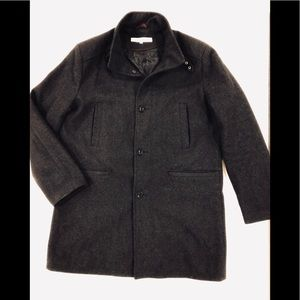 Kenneth Cole New York Large wool blend jacket